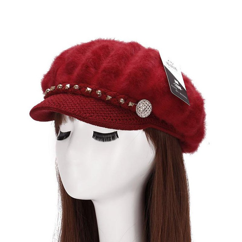 Womens Unique Pattern Knitted Hats Creative India Exports