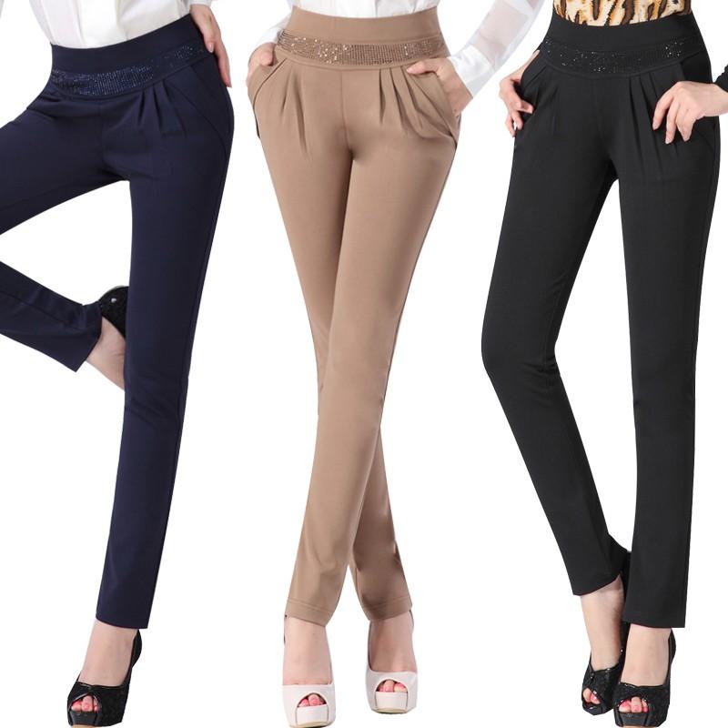 Womens Winter Fashion Skinny Trousers