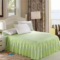 100% Cotton Flouncing Bed Cover