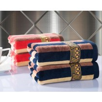 100% Cotton Striped Towels