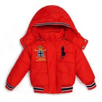 Boys Cotton Hooded Jacket