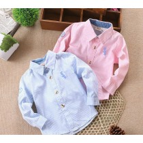 Boys Striped Cotton Shirts