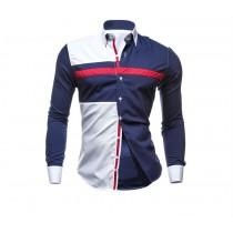 Casual Slim Fit Mens Cotton Shirts