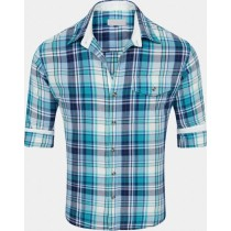Cotton Casual Shirt in Checks
