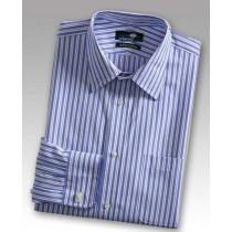 Mens 100% Cotton Long Sleeve Formal Shirt