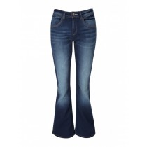 Dark Blue Boot Cut Jeans