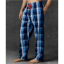 100% Cotton Mens Printed Woven Pajamas