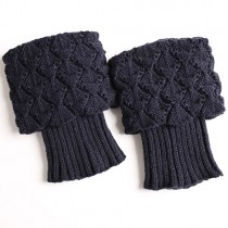 Fashionable Knit Leg Warmers Womens Socks