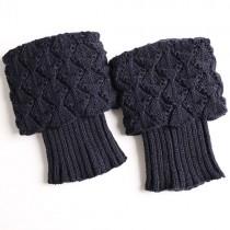 Fashionable Knit Leg Warmers Womens Socks