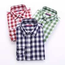 High Quality Check Pattern Women Shirts