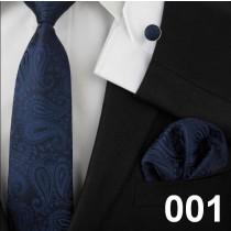 Latest Floral Printed Mens Fashion Silk Tie Sets