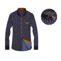 Long-Sleeve Slim Fit Mens Casual Shirts