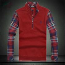 Luxury Mens Zipper Collar Polos Tshirts