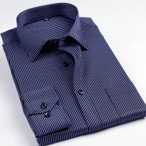 Mens Casual Striped Cotton Shirts