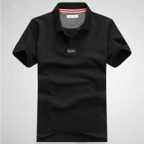 Mens Fashion Turn Down Collar Polo Tshirts