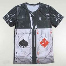 Mens Multi Printed 3D Casual Tshirts