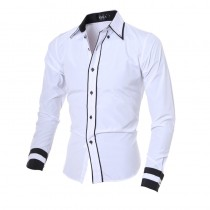Mens New Design Solid Long Sleeve Shirts