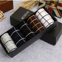Mens New Fashion Cotton Knitting Short Socks