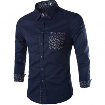 Mens New Fashion Slim Fit Casual Shirts