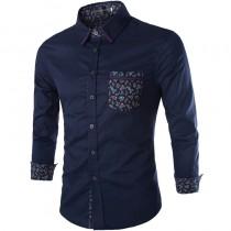 Mens New Fashion Slim Fit Casual Shirts