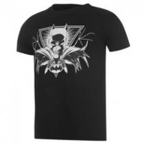 Mens Round Neck Character Motif T shirt