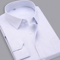 Mens Slim Fit Striped Cotton Shirt