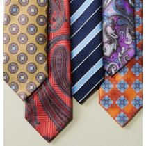 Mens Ties In Different Patterns, Styles & Fabrics