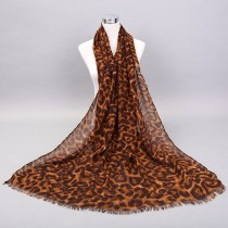 New Arrival Long Leopard Print Women Scarves