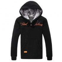 New Arrival Mens Hooded Thick Sweatshirts