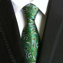 New Arrival Trendy Mens Polyester Silk Ties