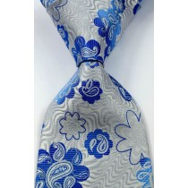New Classic Paisley Striped Printed Men Ties