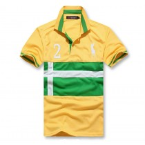New Fashion Breathable Cotton Mens Polos