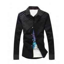 New Fashion Mens Long Sleeve Buttons Shirts