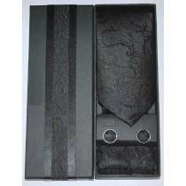 New Men Classic Paisley Pattern Tie Sets