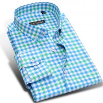 New Mens 100% Cotton Casual Slim Fit Shirts