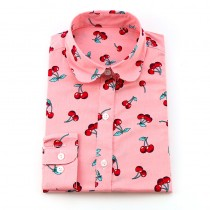 New Turn Down Collar Printed Casual Shirts