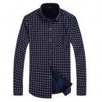 Plaid Mens Casual Shirts