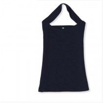 Womens Cotton Halter Neck Sleeveless Camis