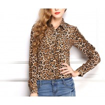 Womens Long Sleeve Loose Printed Shirts