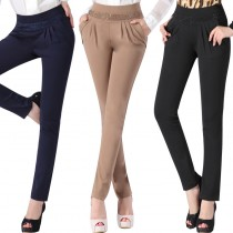Womens Winter Fashion Skinny Trousers